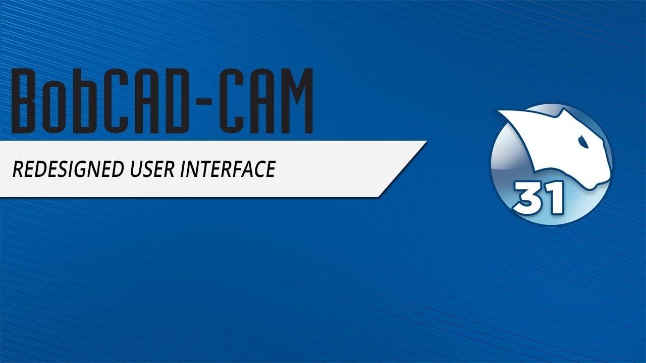 BobCAD-CAM Releases V31 CAD-CAM Software | CAD/CAM Software