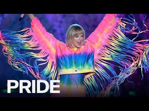 Celebrities Show Their Pride By Rocking Rainbow | PRIDE