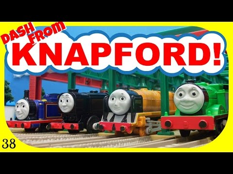 Thomas And Friends - Dash From Knapford 38! Trackmaster Race Competition!