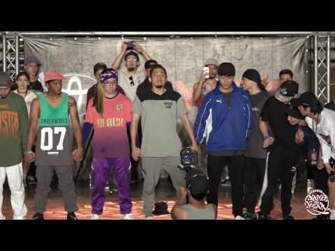 Bboy Crew Battle FINAL:Taichung City Hentai vs Dream Runnerz|2017 TOYOTA BOTY TAIWAN