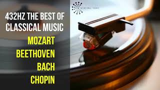 Best Classical Music 432Hz 》Mozart • Beethoven • Bach • Chopin 》Piano Violin & Orchestral