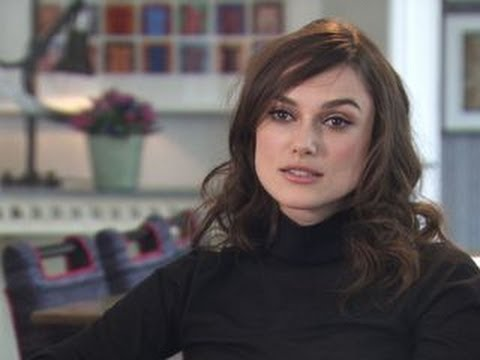 "Keira Knightley on ""Begin Again"" and faking it"