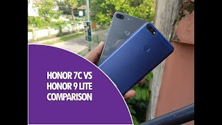 Honor 7C vs Honor 9 Lite Detailed Comparison, Camera, Software & Performance