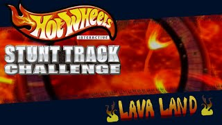 Xin Plays: Hotwheels: Stunt Track Challenge (PS2): Part 6: Lava Land