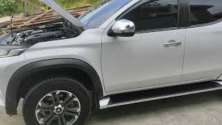 2020 Mitsubishi Strada Test Drive