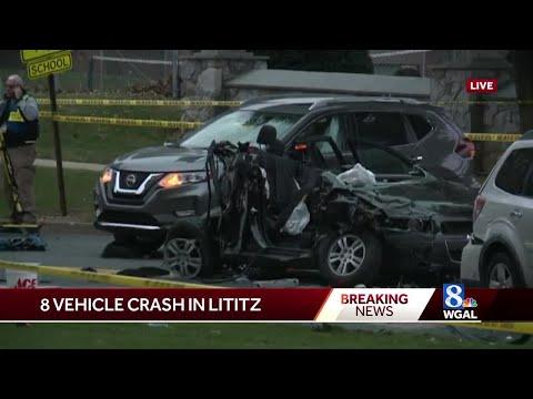 Woman causes 8-vehicle crash near Warwick High School, authorities say