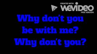 Old Dominion - Be With Me (Lyrics) Video