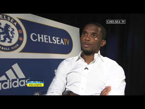 EXCLUSIVE: New signing Samuel Eto'o speaks to Chelsea TV