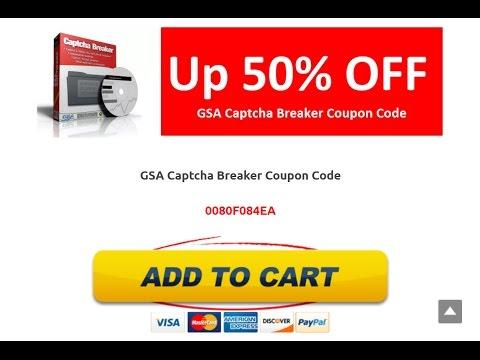 Gsa captcha breaker coupon code youtube fandeluxe Gallery
