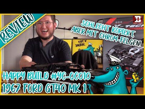 Happy Build Ford GT40 (YC-QC010): Ein Design-Traum von James Tilson!