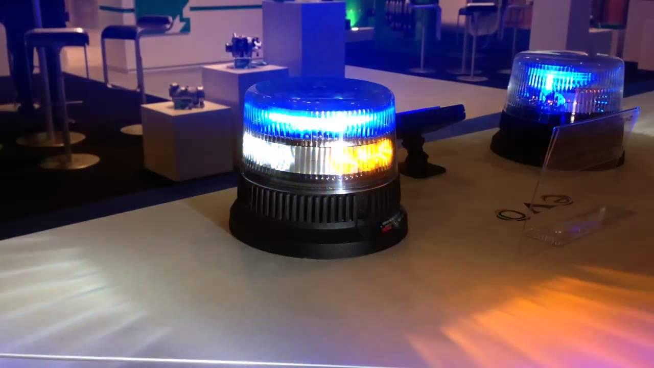 Lampeggiante supplementare ambra LED INTAV Trilogy Gold