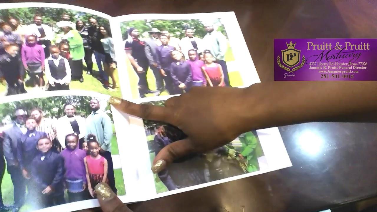 Memorial Funeral Photo Book