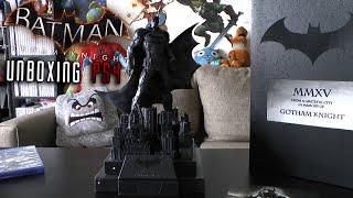 Batman Arkham Knight: Collectors Edition PS4 UNBOXING Review