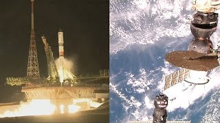The Fastest Spacecraft to the ISS - Progress MS-09 launch and docking