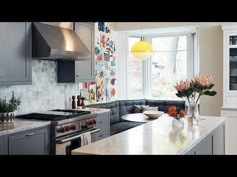 Room Tour: Warm Family-Friendly Kitchen Of Foodie Devin Connell