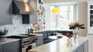Room Tour: Warm Family-Friendly Kitchen Of Foodie Devin Connell Video