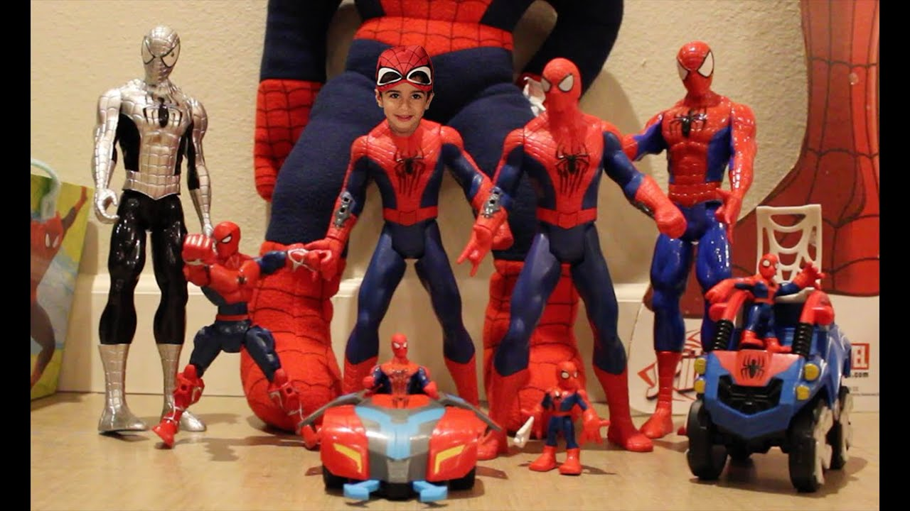 Kids Toys Action Figure: Spiderman Play Doh, Spiderman Toys, Spiderman Puzzles