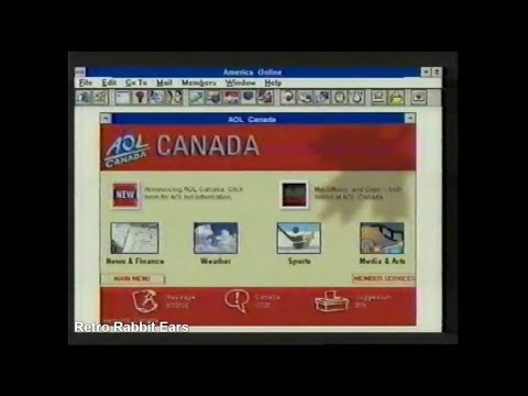 1996 AOL Canada TV Commercial You've Got Mail!
