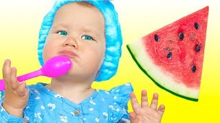 Yes Yes Fruits Song   동요와 아이 노래   어린이 교육