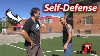 """I Would..."" Self Defense Drill"