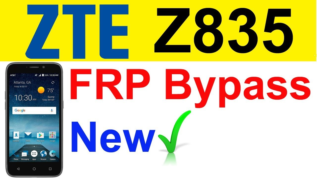 ZTE Z835 FRP bypass | ZTE Z835, Z971, Z981, Z982 FRP bypass ANDROID 7 1 1