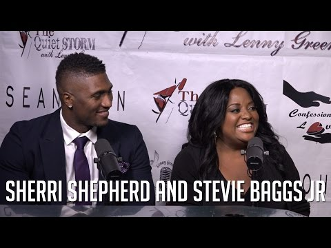 Sherri Shepherd and Stevie Baggs Jr Talk 'Match Made in Heaven' + Sherri Opens Up About Ex Husband