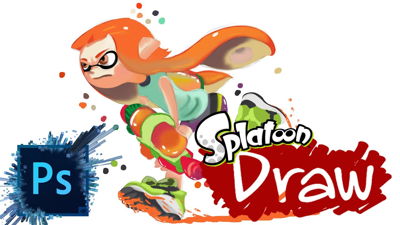 Demo 4Splatoon Speed Color Blend Intuos Pro4