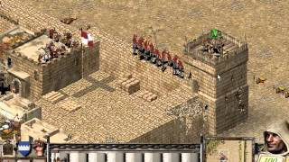 Lets Play Stronghold Crusader Battle 1 [Part 1 of 3]