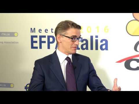 EFPA Italia Meeting 2016, intervista Daniele Socci, Deutsche Asset Management