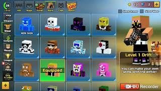 (Pixel gun 3d) Fortnite skins