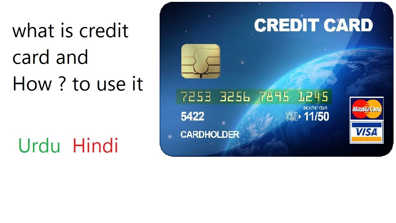 What is a credit card