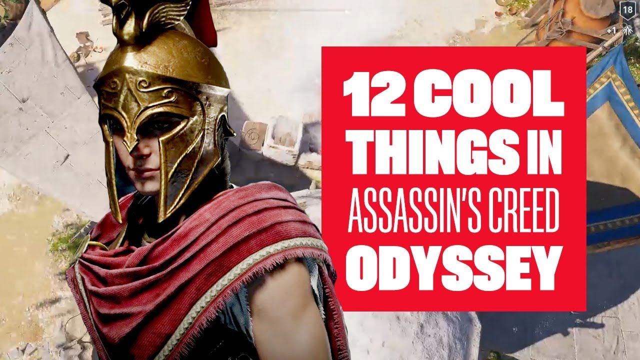 12 cool things in Assassin's Creed Odyssey - Assassin's Creed Odyssey Gameplay E3 2018