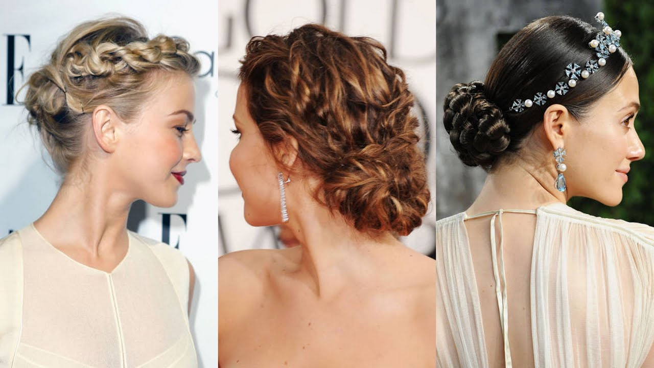 Bride Wedding Guest And Maid Of Honor Hairstyles YouTube