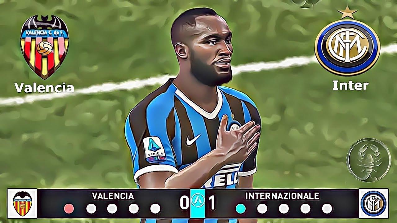 Valencia 🆅🆂 Inter Amichevole