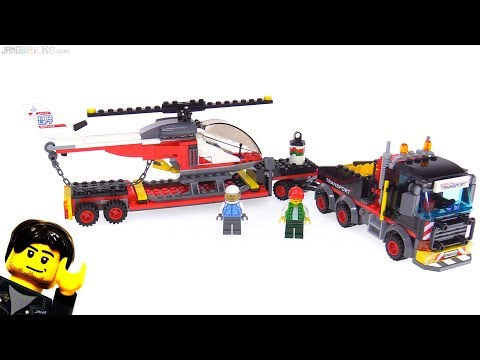 LEGO City 2018 Heavy Cargo Transport review! 60183