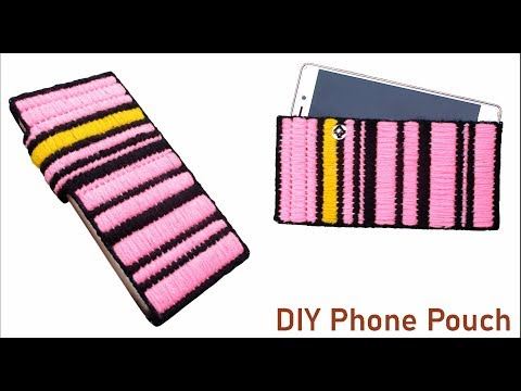 buy online 394c1 aa162 How To DIY Mobile Phone Pouch Case Holder & Phone Cover Making at ...