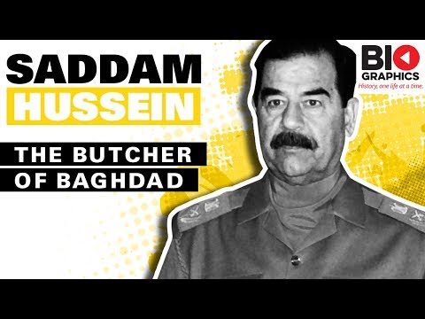 Saddam Hussein Biography: The Butcher of Baghdad