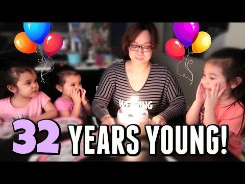 CELEBRATING 32 YEARS!!! - January 31, 2018 -  ItsJudysLife Vlogs