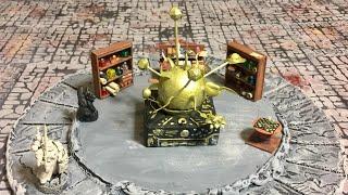Tabletop Craft # 18 - Working Wizards Planetarium.