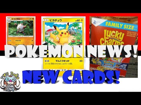 Pokémon News! Free Cards in Cereal and New Pikachu Card! (and Primeape)