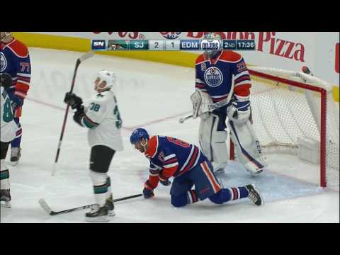 Boedker doubles his seaon goal total with hat trick vs Oilers