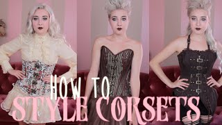 Steampunk 101: How to Style Corsets