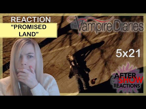 """The Vampire Diaries 5x21 - """"Promised Land"""" Reaction Part 2"""