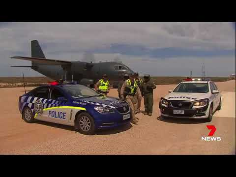 RAAF Spartan road landing, Nullabor