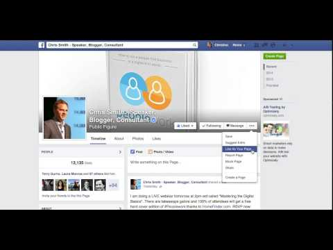 How-To Like Other Pages As Your Business Page