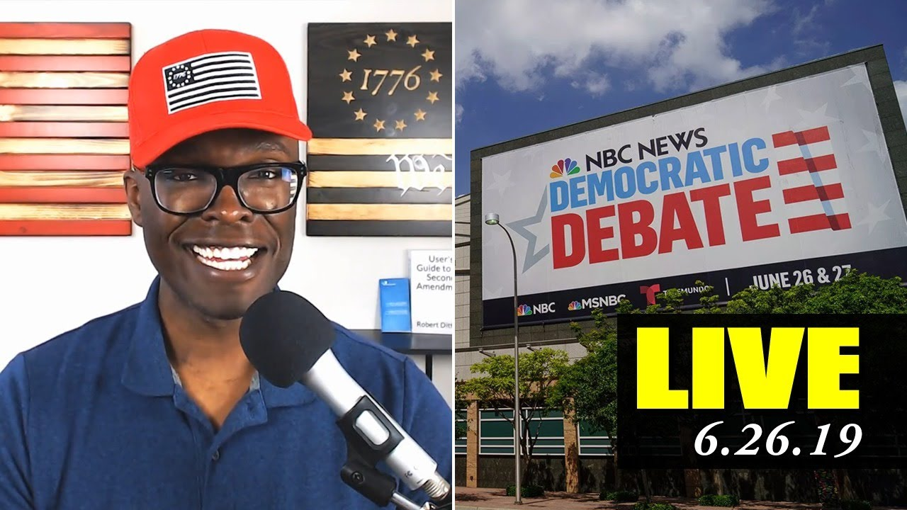Anthony Brian Logan Democratic Debate 2019 - Wednesday with Pocahontas! (ABL LIVE)