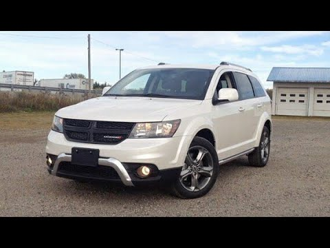 2018 Dodge Journey AWD Crossroad: Start Up, Exterior, Interior, Drive Test & Full Review