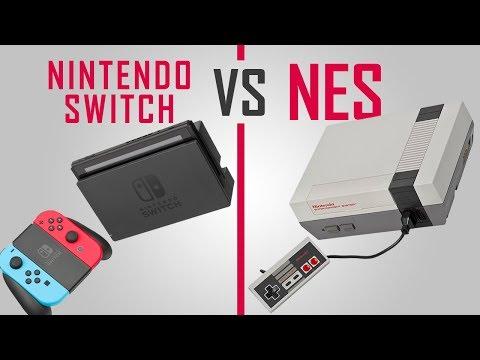 Nintendo Switch VS NES