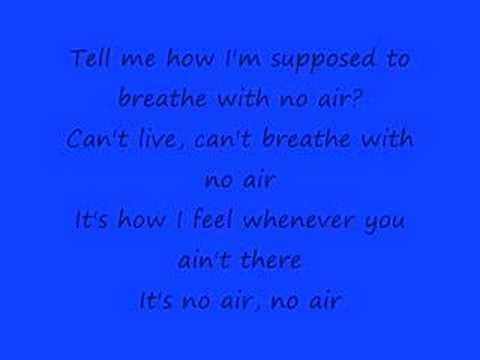 Jordin Sparks Feat. Chris Brown No Air (With Lyrics)