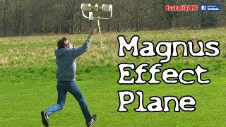 YOUNG KID builds and flies MAGNUS EFFECT RC PLANE